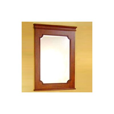 bathroom vanity mirror in dark brown size 24 inches wall mirror