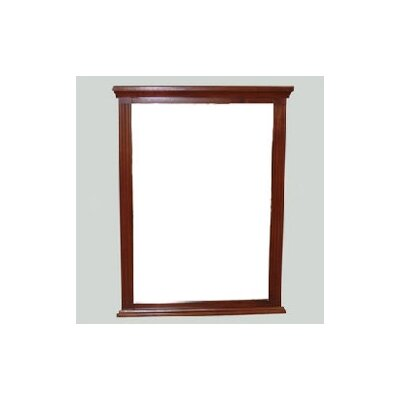 Newport Bathroom Vanity Mirror Finish: White, Size: 27