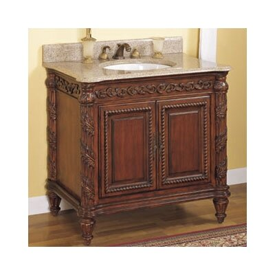 Tuscany Bathroom Vanity Base Size: 24