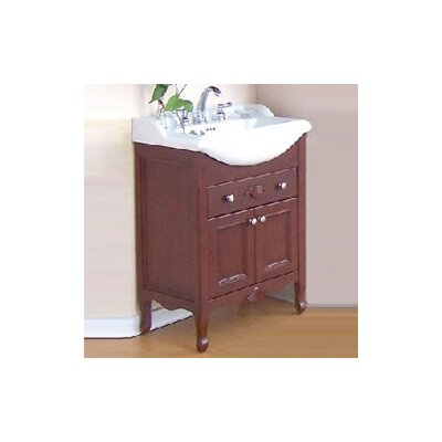 Kensington 27 Single Extra Deep Bathroom Vanity Set Console Size: 31