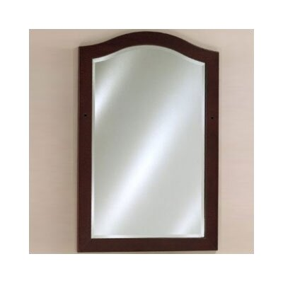 "Windsor 39.4"" H x 26.75"" W Decorative Vanity Mirror Finish: White"