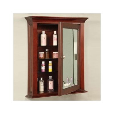 Windsor 24.9 x 30.12 Recessed Medicine Cabinet Finish: Antique White