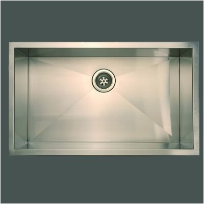 Everest 32 x 19 Single Undermount Sink