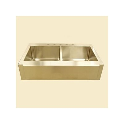 Farm Double Undermount Kitchen Sink