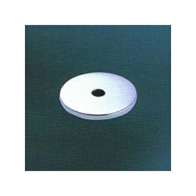 Tempo Small Round Back Plate Finish: Satin