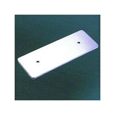 Tempo Rectangular Back Plate Finish: Polished