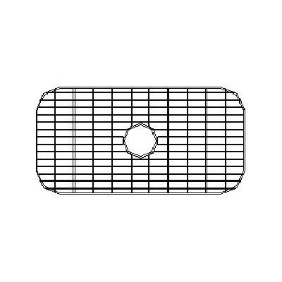28 x 14.38 Sink Grid for 16 Gauge Undermount Single Bowl Kitchen Sink