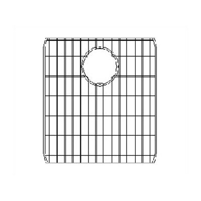 14.38 x 17.25 Sink Grid for Undermount Left Double Bowl Kitchen Sink