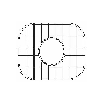 18.5 x 18.5 Sink Grid for Undermount Round Single Bowl Kitchen Sink