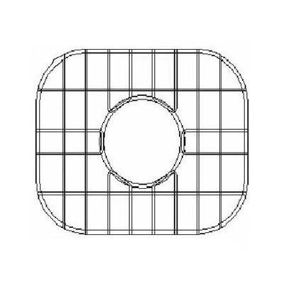 16 x 13.63 Sink Grid for Undermount Large Left Bowl Kitchen Sink