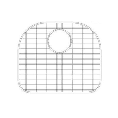 16.13 x 15.75 Sink Grid for 16 Gauge Undermount Large Left Bowl Kitchen Sink