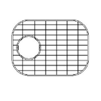 13.88 x 8.88 Sink Grid for 16 Gauge Undermount Small Left Bowl Kitchen Sink