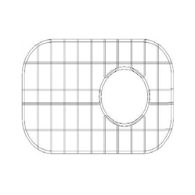 15 x 11 Sink Grid for 18 Gauge Undermount Large Right Bowl Kitchen Sink