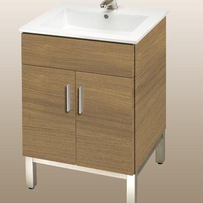 Daytona 21 Bathroom Vanity Color: Golden Wheat, Hardware: Polished