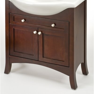 Petite Empress 20 Bathroom Vanity Base Width: 26, Base Finish: Spice Cherry