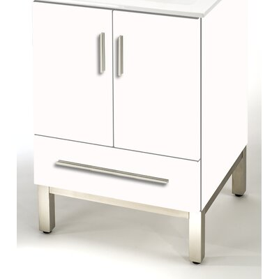 Daytona  20 Single Bathroom Vanity Base Base Finish: Golden Wheat, Hardware: Polished