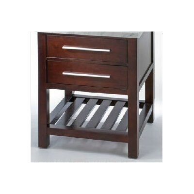 Priva 30 Single Bathroom Vanity Base Base Finish: Dark Cherry