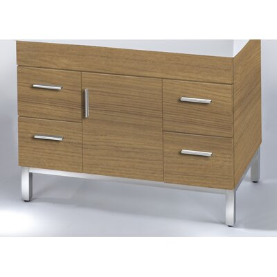 Daytona 38.5 Single Bathroom Vanity Base Base Finish: Golden Wheat, Hardware: Satin