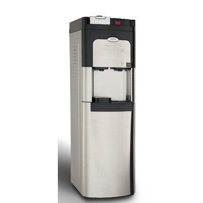 Free-Standing Hot and Cold Water Bottom Loading Cooler Finish: Stainless Steel 218LCH-KK-SSS-5i