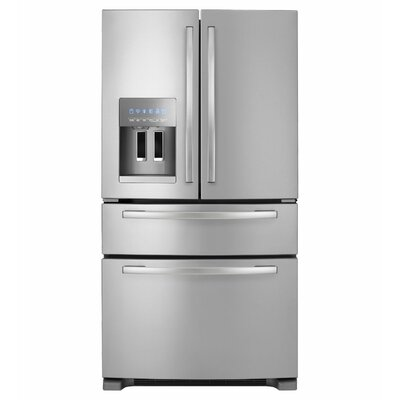 25 cu. ft. Energy Star Qualified 4-Door French Door Refrigerator
