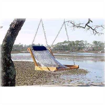 Single Hammock Swing Cushion and Headrest