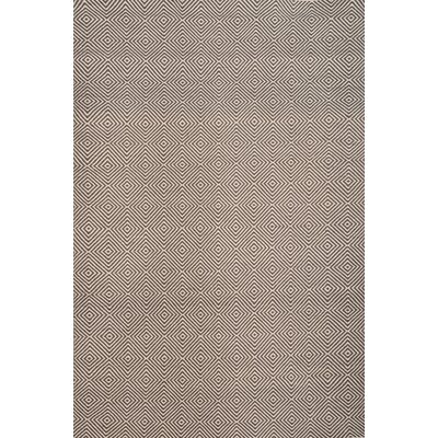 Bernardston Dark Brown/Ivory Rug Rug Size: 5 x 8