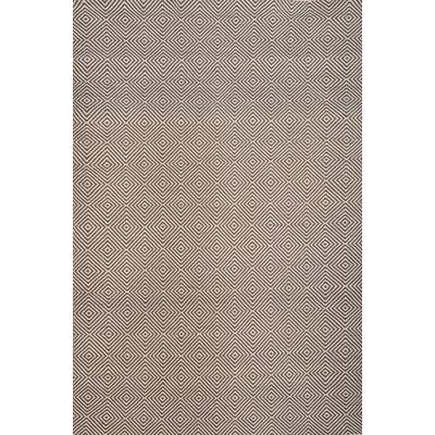 Bernardston Dark Brown/Ivory Rug Rug Size: 8 x 10