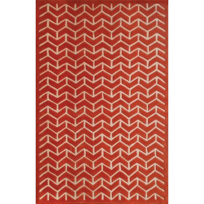 June Avenue Geometric Rug Rug Size: 5 x 8
