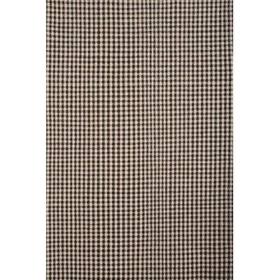 Hempstead Black/Beige Rug Rug Size: 8 x 10