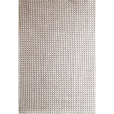 Hempstead Hand Woven Wool Beige/White Area Rug Rug Size: Rectangle 8 x 10
