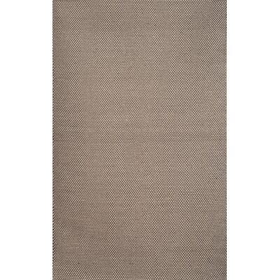 Hempstead Grey/White Rug Rug Size: 5 x 8