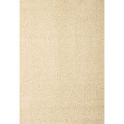 Justine White Area Rug Rug Size: 79 x 106