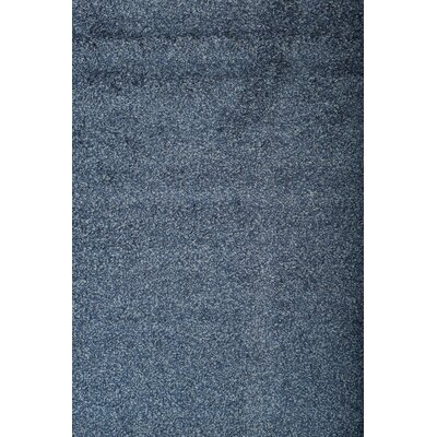 Justine Blue Area Rug Rug Size: 53 x 76