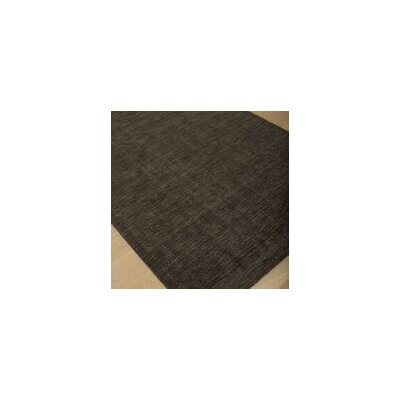 Loring Hand-Tufted Black Area Rug Rug Size: 5 x 8