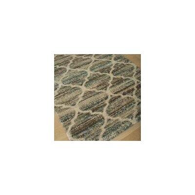 Teasley Blue/Brown/Tan Area Rug Rug Size: 710 x 112