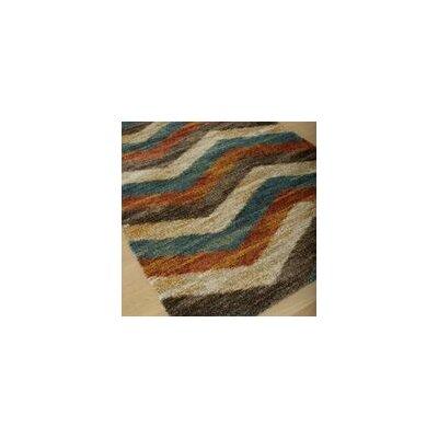 Teasley Multi-Color Area Rug Rug Size: 53 x 76