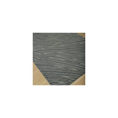 Walgett Shire Waves Gray/Ivory Area Rug Rug Size: 5' x 8'