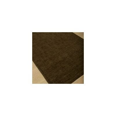 Loring Hand-Tufted Brown Area Rug Rug Size: 5 x 8