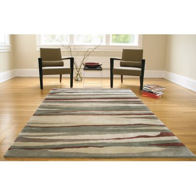 Provincetown Hand-Knotted Gray/Beige Area Rug