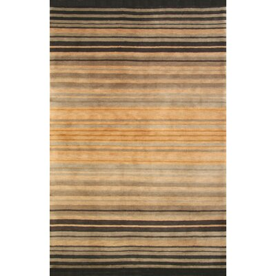 Mystic Hand-Knotted Brown/Black Area Rug