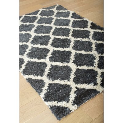 Cambridge Blue Area Rug Rug Size: 79 x 106