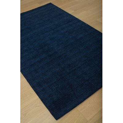 Loring Hand-Tufted Blue Area Rug Rug Size: 8 x 10