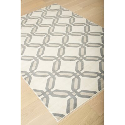 Colesberry Gray/Beige Area Rug Rug Size: 79 x 106