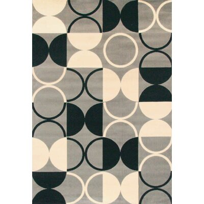 Colesville Black/Gray Area Rug