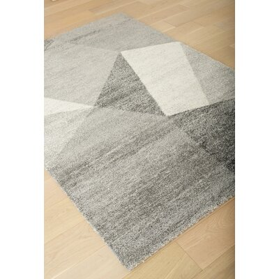 Teasley Gray Area Rug Rug Size: 53 x 76