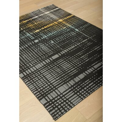 Colesberry Black Area Rug Rug Size: 53 x 76