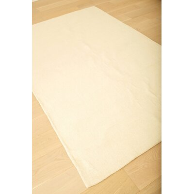 Loring Hand-Tufted Ivory Area Rug Rug Size: 8 x 10