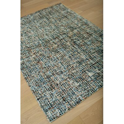 Rowley Hand-Tufted Blue/Brown Area Rug Rug Size: 5 x 8