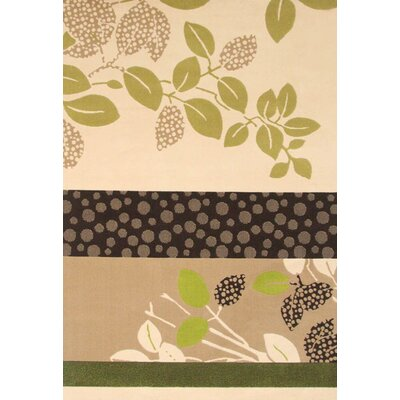 Lorraine Beige/Green Juniper Area Rug