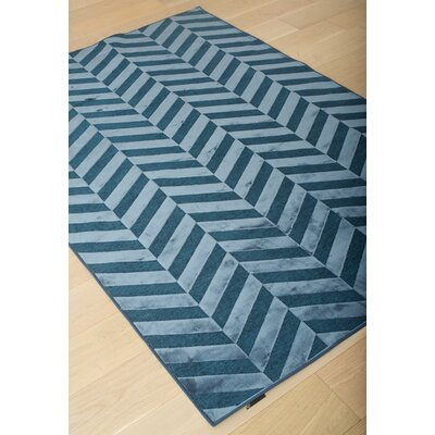 Teague Cobalt Area Rug Rug Size: 710 x 112